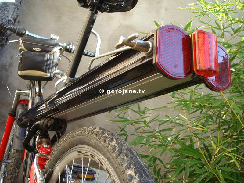 Багажник на двухподвесный велосипед своими руками 57