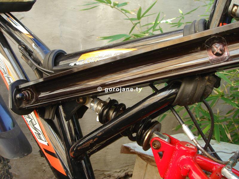 Багажник на двухподвесный велосипед своими руками 22