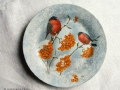 Птицы на блюде