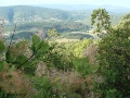 Вид на долину и Крымские горы