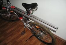 Багажник на двухподвесный велосипед своими руками 56