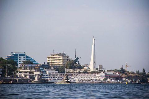 Севастополь с моря