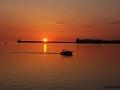 Закат над бухтой