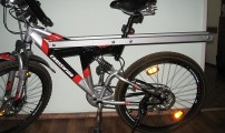 Велобагажник для пассажира