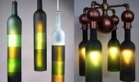 Бутылки в интерьере